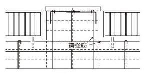 組み込みフェンス塀