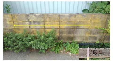 ブロック塀の事例1