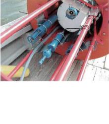 メモリー電磁流向流速計 INFINITY-EMの使用例