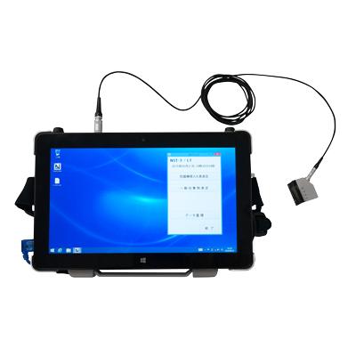 計測器インストラクション:根入れ深さ測定装置 NST-2/LT(ジオファイブ):超音波測定器:非破壊検査機