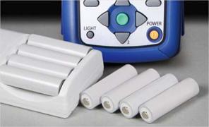 充電式の電池に対応し、環境にも配慮