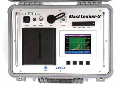 エラストロガー2 操作パネル