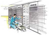 生産設備のメンテナンス