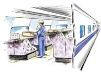 鉄道車両における長時間連続試験