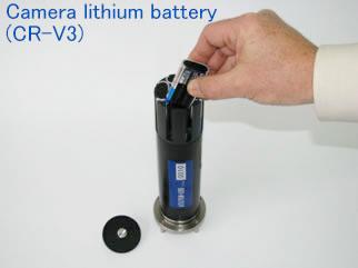 カメラ用リチウム電池を採用