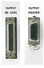 RS-232C、セントロニクスインターフェースを標準装備