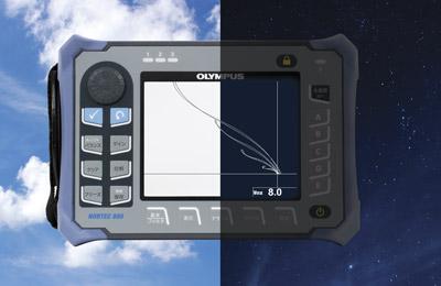 VGAディスプレイで渦流信号をクリアに表示