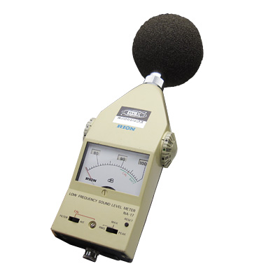 低周波音レベル計NA-17