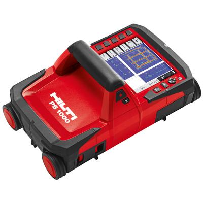 電磁波レーダ埋設物探査システムX-Scan PS1000