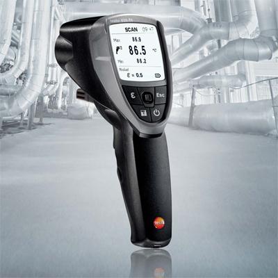 多機能赤外線放射温度計testo835-H1