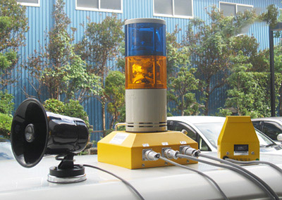 建設機械車両用バックセンサーSSW-5M4