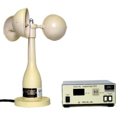 風杯型風速計(デジタル)OT-902