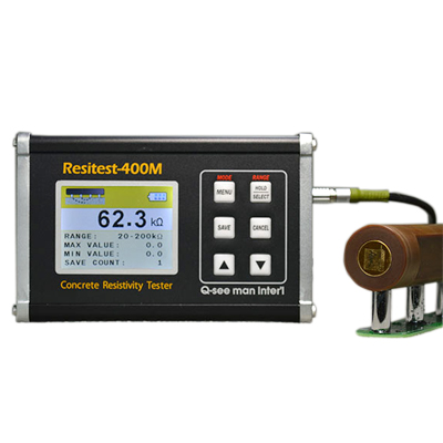 コンクリート電気抵抗測定器Resitest-400M