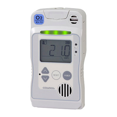 一体型酸素検知警報器KS-7O