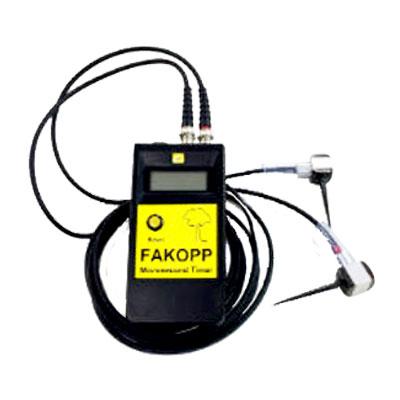 応力波速度測定器FAKOPP