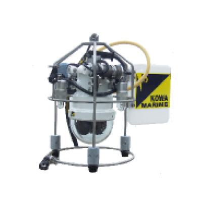 パン・チルト付吊下式水中カメラKW-100