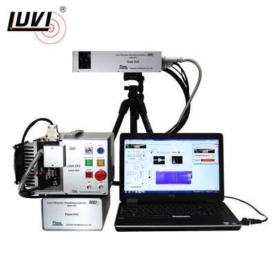 レーザー超音波可視化検査装置 LUVI-CP2