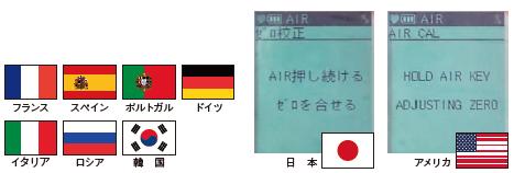 多言語表示