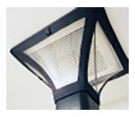 空調口が見える透明フード 位置合わせが簡単
