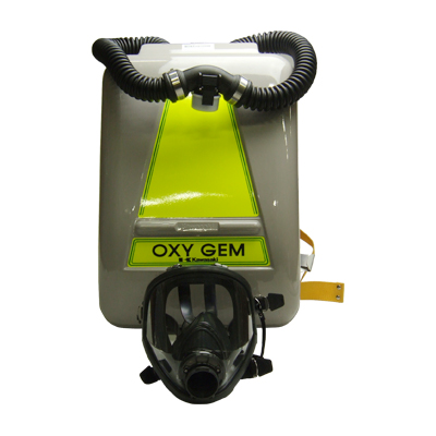 循環式酸素呼吸器オキシゼム-11
