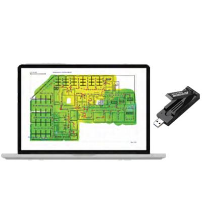 無線・有線LAN 環境調査測定ツールAIRMAGNET SURVEY PRO